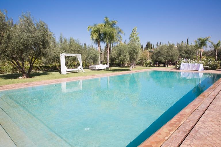 piscine riad jawad marrakech