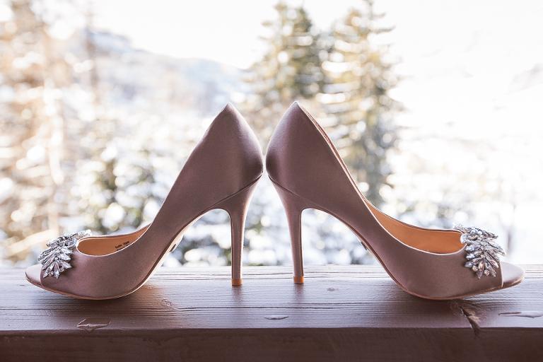 mariage au mont d'Artois chaussures de mariée