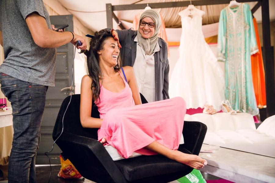 préparatifs mariage à Marrakech