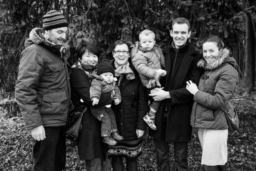 photo de famille à Tours