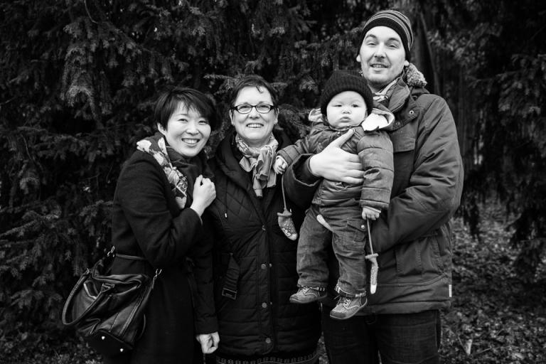 jolie famille à Saint Cyr sur Loire