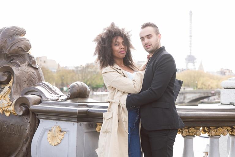 endroit romantique dans paris