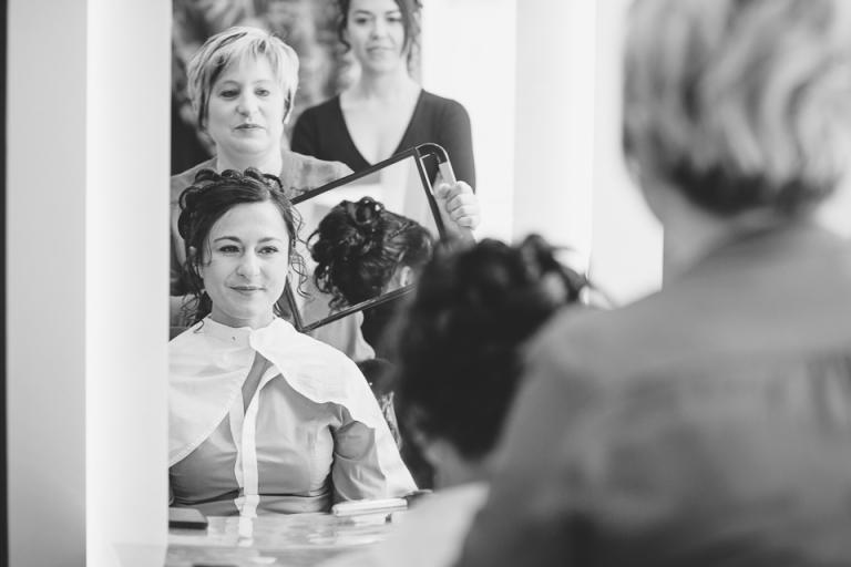 mariage à cassie coiffeur