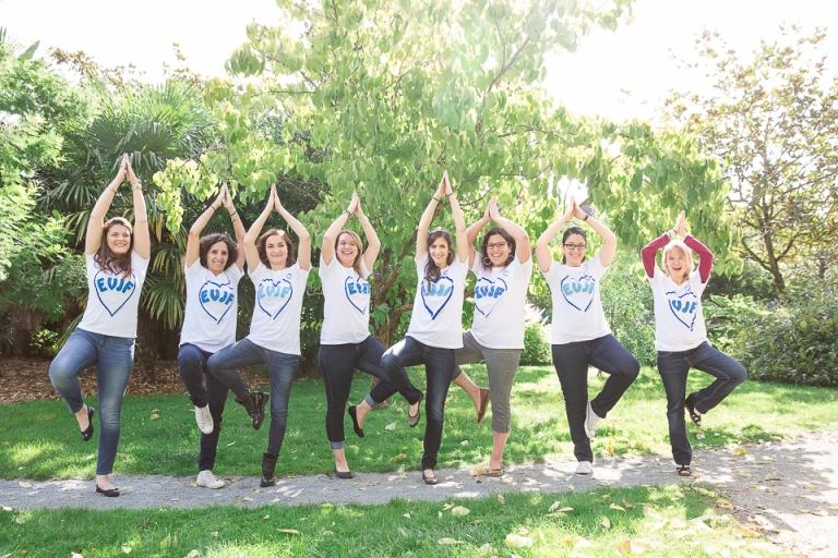 yoga pour evjf tours