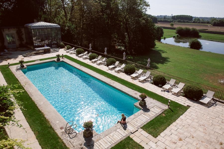 piscine du Domaine des Bidaudières