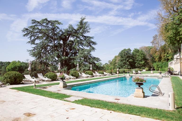 parc et piscine du Domaine des Bidaudières