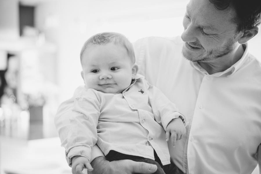 papa et son fils portrait