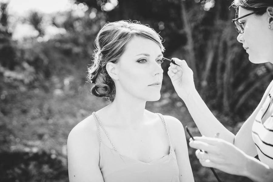 maquillage de mariage à Tours