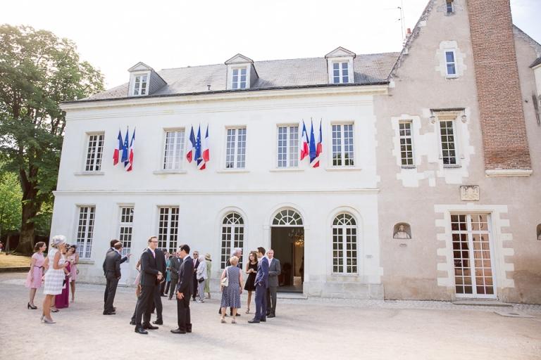 mariage à la Mairie de Saint Cyr sur loire