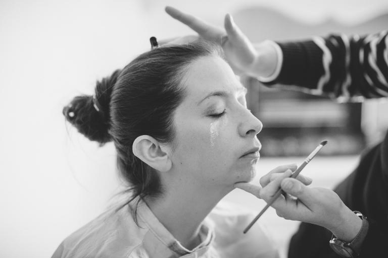 maquillage de la mariée en Touraine