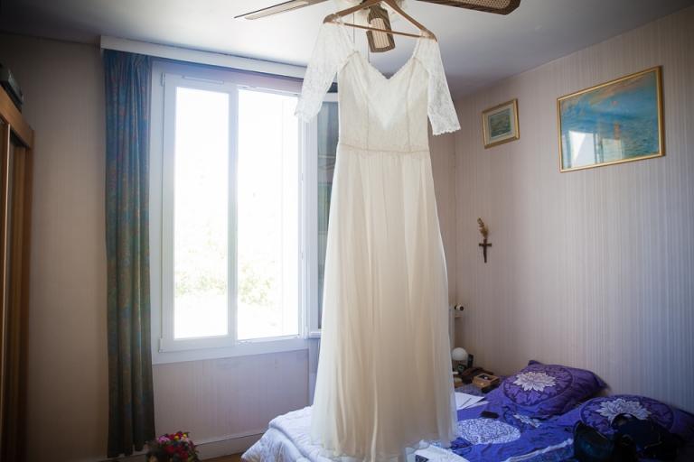 robe de mariee celine haudebourg Tours