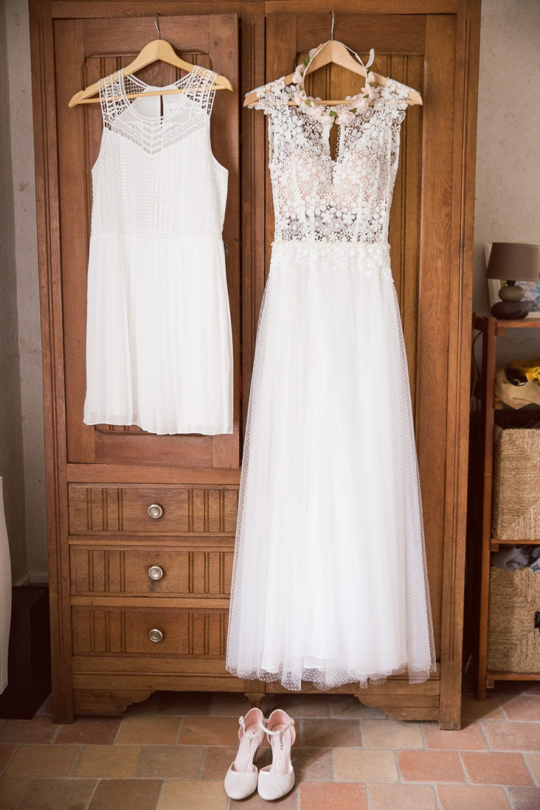 robe de mariage celine haudebourg