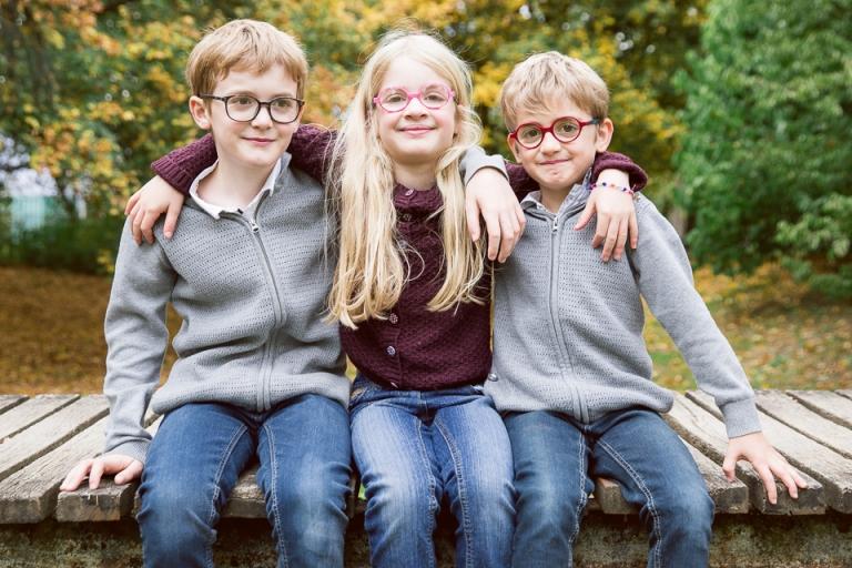 photos de famille au parc de sainte radegonde à Tours
