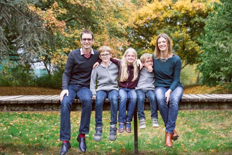 famille au parc de sainte radegonde